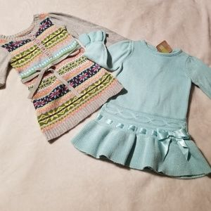 Toddler sweater dress